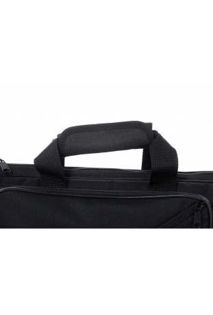 Velcro reinforced easy-to-open handle