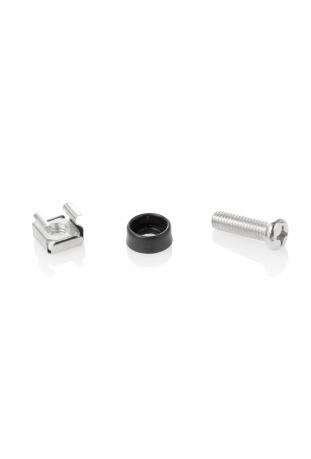 Set of screws, nuts and washers
