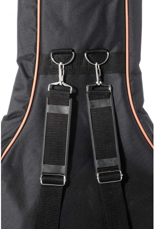 Adjustable double strap with professional hooks