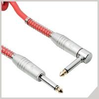 Instrument cables - Ø 6,3 mm jack - Ø 6,3 mm jack 90°