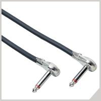 Instrument cables - Ø 6,3 mm jacK 90° - Ø 6,3 mm jack 90°