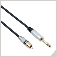 Instrument cables - RCA - Ø 6,3 mm jack