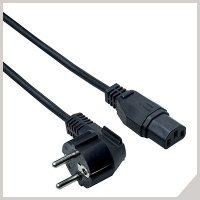 Moulded power cables - spina schuko - VDE socket