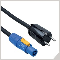 Power cables - POWERCON® in - schuko plug