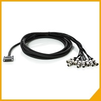 Multi-channel and interface assembled cables