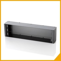 Metal boxes for rack panel