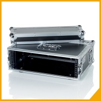 Wooden flight cases for audio systems