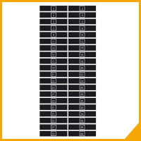Numbered labels for audio systems