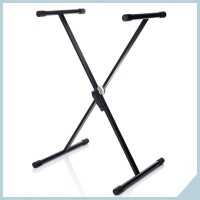 Single braced keyboard stands