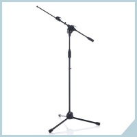 Mic stands with telescopic boom