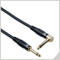 Instrument cables - Ø 6,3 mm jack - Ø 6,3 mm jack 90°