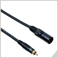Instrument cables - RCA - cannon male