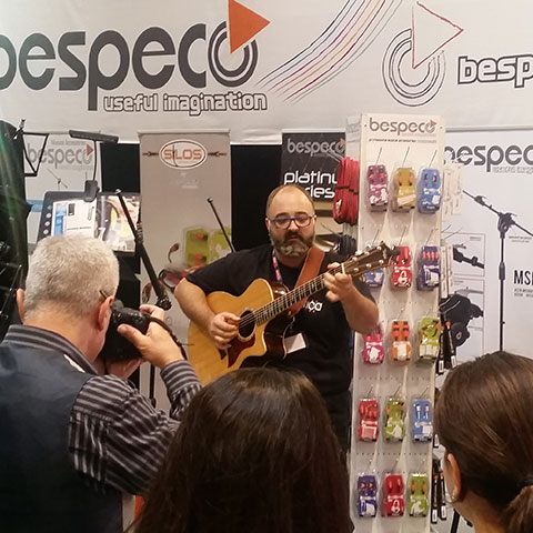 Bespeco @ Acoustic Guitar Village 2017