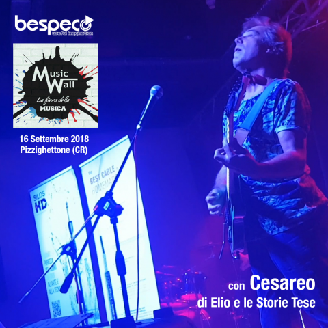 Bespeco @ Music Wall 2018