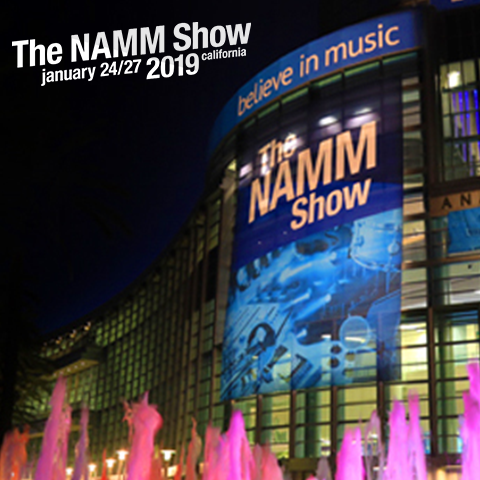 NAMM Show 2019 is behind the corner